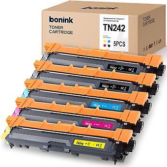 FengChun 5 Toner kompatibel fr Bruder TN-241 TN-242 TN242 TN-246 Druckerpatronen fr Bruder