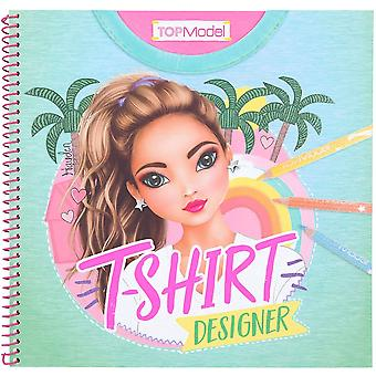 TOP Model T-Shirt Designer Sticker and Colouring Book