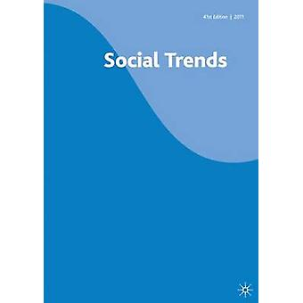Social Trends 41st Edition by Edited by Na Na