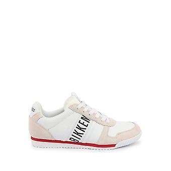 Bikkembergs - Zapatos - Zapatillas deportivas - ENRICUS-B4BKM0135-100 - Hombres - blanco, rojo - EU 44