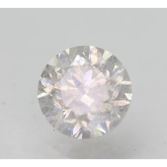 Sertifioitu 1,46 karat F SI2 pyöreä brilliant parannettu luonnon timantti 6.94mm 3VG