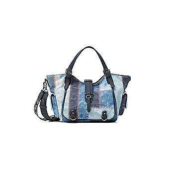 Desigual Denim skulderveske, Crossbody Bag. Kvinne, Blå, U