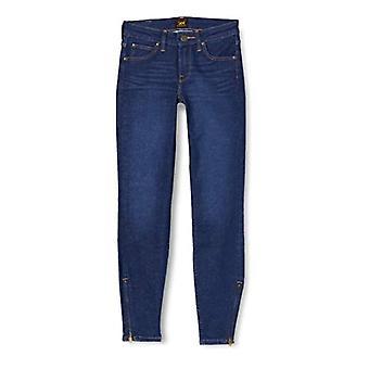 Lee Scarlett Beskurna jeans, Mörk klocka, 29W x 33L Kvinna