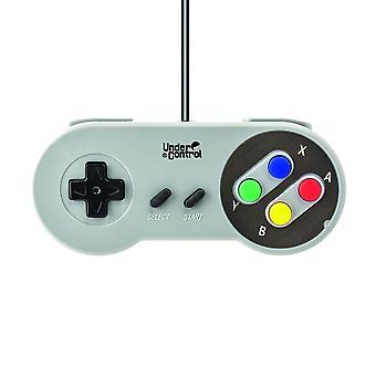 Under Control - Super Nintendo Controller - Wired 1.5M - Grey