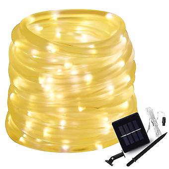 Led Solar Rope Tube String Lights Solar Patio Lights