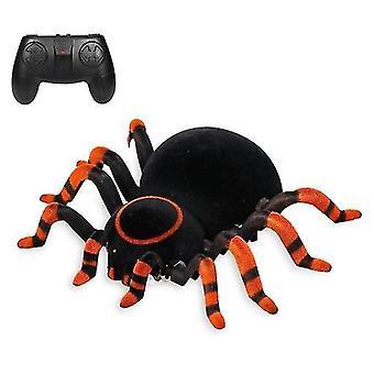 Orange wall climbing spider remote control creepy toys cai787