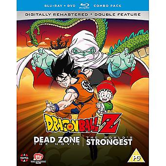 Dragon Ball Z Movie Collection One: Dead Zone/The World es Strongest DVD/Blu-ray Combo