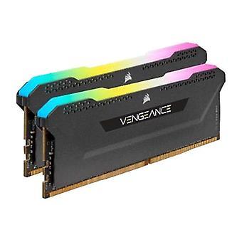 Corsair Vengeance RGB Pro SL 16 GB di memoria kit (2 x 8 GB), DDR4, 3600 MHz (PC4-28800), CL18, XMP 2.0, nero, Ryzen ottimizzato