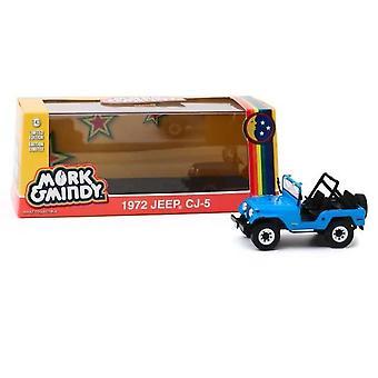 Mork och Mindy 1978-82 Tv-serie 1972 Jeep CJ-5 1:43 Greenlight 86570
