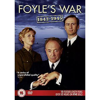 Foyles War 1942 - 1945 DVD (2014) Michael Kitchen Richards (DIR) cert 15 5 Regio 2