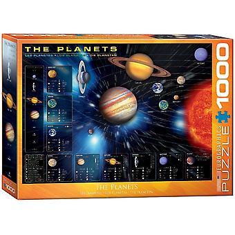 Eurographics The Planets Jigsaw Puzzle (1000 pezzi)