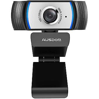 AW33 FHD 1080P Webcam with Built-in Noise Reduction Microphone Stream USB Webcam for Video