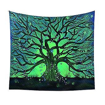 150 * 200CM شجرة الحياة نسيج مخدر الغابات الهيبي الفن الجدار شنقا المفروشات ديكور المنزل