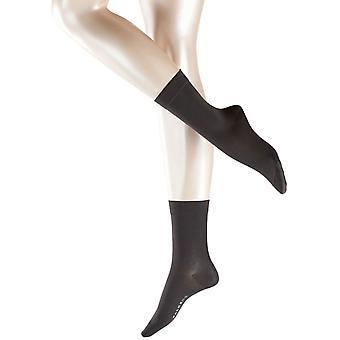 Falke Cotton Touch sokken - antraciet