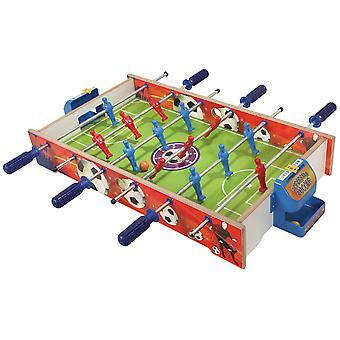 Matrax houten tafelvoetbal spel medium formaat