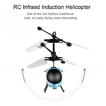Rc Flying Mini Rc Infraed Induction Helicopter Aircraft Toys For Kids Children