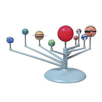 Robotic toys solar system planetary instrument model nine planets kit educational sm164039