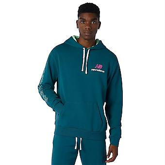 New Balance Athletics Clash Hoodie MT13564MTL universal all year men sweatshirts