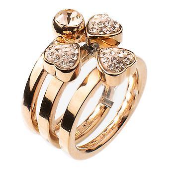 Dames ring Folli Follie 3P13T012RC-54 (Maat 14)