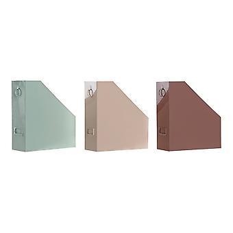منظم متعدد الأغراض DKD المنزل ديكور الحديد (3 أجهزة الكمبيوتر الشخصية) (10 × 25 × 28 سم)