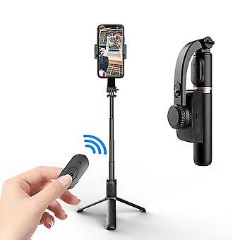 Handheld Gimbal Stabilizer With Bluetooth Shutter Tripod For Smartphone Action Camera Video Record Vlog Live