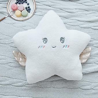 Hot New Stuffed Angel Cloud Moon Star Plush Pillow Soft Cushion Cloud Stuffed Plush Toys (45*40cm)
