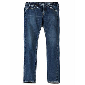 Edwin Jeans avsmalnande regelbundet Rainbow Selvedge Denim - mitten av mörka används