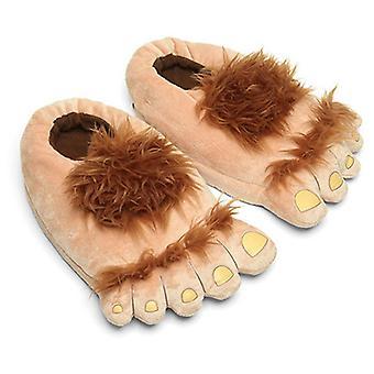 Mancs papucs fuzzy töltött állati karom cipő vicces Cosplay jelmezek tizenévesek felnőttek 35-44, Hobbit, M