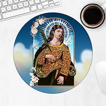Gift Mousepad: Saint Eulalia Of Merida Catholic