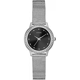 Találd ki az ezüst rozsdamentes acél W0647L5 női karórát