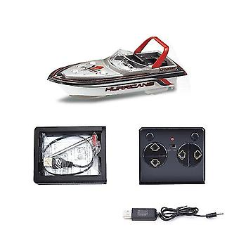Remote control boats watercraft mini simulation remote control boat red