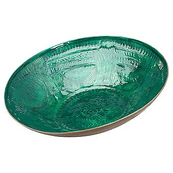 Vases aztec collection embossed decorative bowl