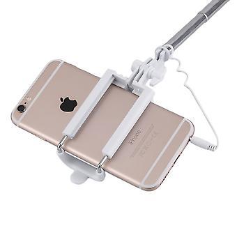 मिनी पोर्टेबल हैंडहेल्ड वायर्ड रिमोट फोन सेल्फी स्टिक मोनोपॉड एक्सपेंडेबल
