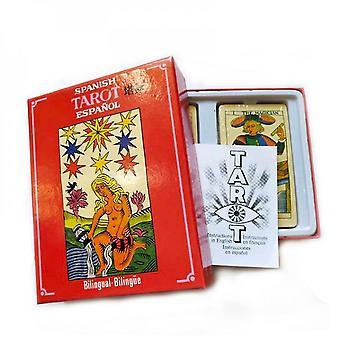Venalisa Tarot Board Game Funny Cards Game Classic Spanish Tarot Game 78pcs Cards