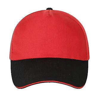 Cap Twill Baumwolle Color Matching Hut Baseball Cap