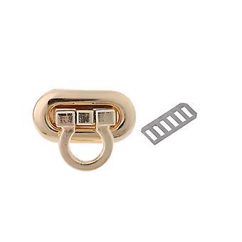 New Metal Clasp Turn Lock Twist Lock For Diy Handbag Craft Bag Purse Hardware