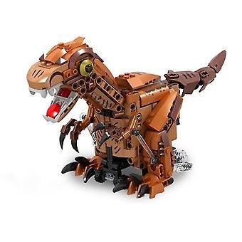 Jurassic World Tyrannosaurus Model Building Blocks With Motor Educational Toys  Hobbies|Blocks