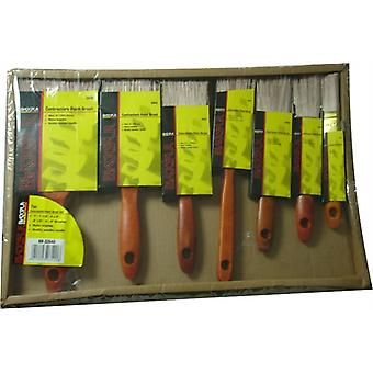 7PC Contractors malen Pinsel-Set