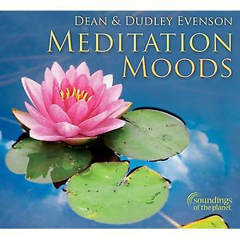 Dean Evenson & Dudley - Meditation Moods [CD] USA import