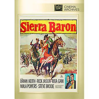 Sierra Baron [DVD] USA importeren