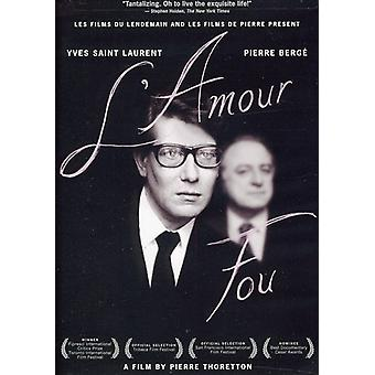 L' Amour Fou [DVD] USA import