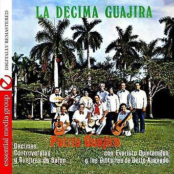 Patria Guajira - Decimas Controversias Y Guajiras De Salon [CD] USA import