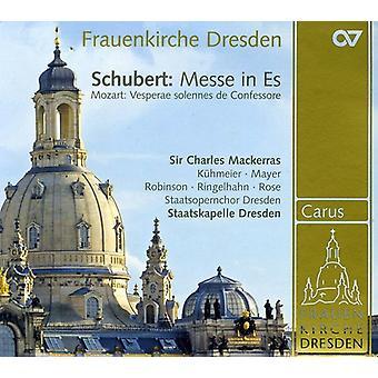 Schubert/Mozart - Schubert: Messe in Es; Mozart: Vesparae Solennes De Confessore [CD] USA import
