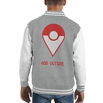 Pokemon Go Outside Kid's Varsity Jacket