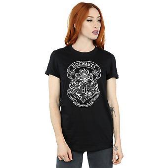 Harry Potter Women's Hogwarts Crest Boyfriend Fit T-Shirt