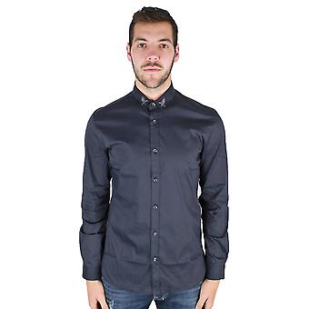Just Cavalli S03DL0169 Black Shirt