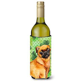 Garrafa de vinho de Brabante pequeno Griffon St Patrick Beverge isolador Hugger
