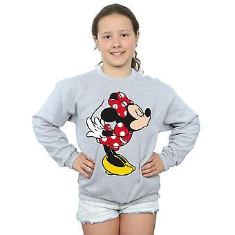 Ragazze Disney Minnie Mouse dividere bacio Sweatshirt