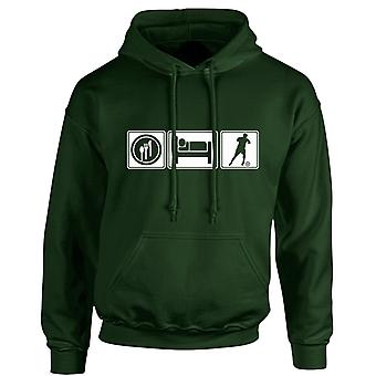 Eat Sleep Football Unisex Hoodie 10 Colours (S-5XL) by swagwear