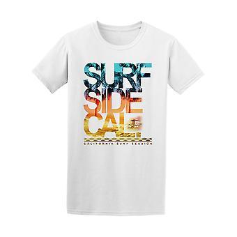 Photo Surf Side Cali California Beach Tee - Image by Shutterstock